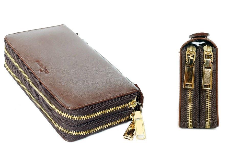 กระเป๋าถือหนังแท้ ใบเล็ก ผู้หญิง Groovy
