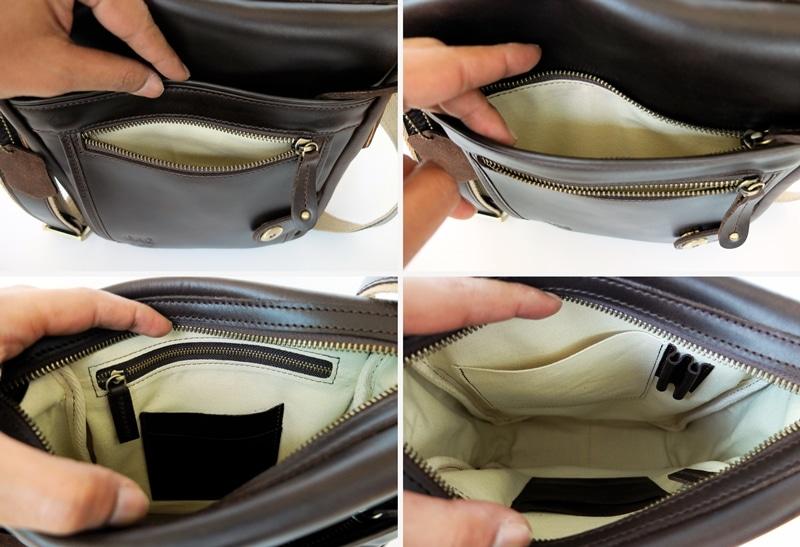 ภายในกระเป๋าหนังแท้ ผู้ชาย