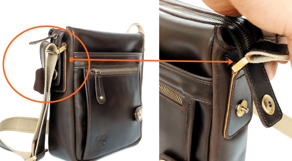 กระเป๋าผู้ชาย หนังแท้ messenger bag leather