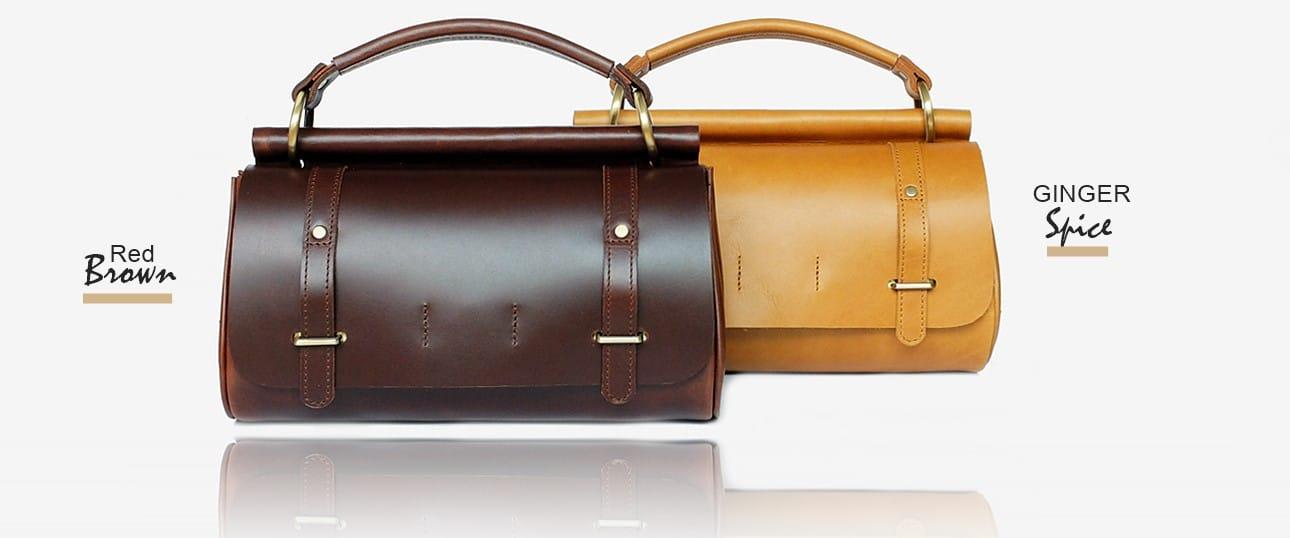 กระเป๋าถือ หนังแท้ รุ่น ZEN