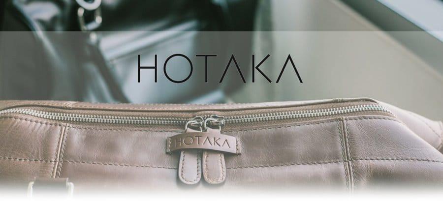 hotakabrand กระเป๋าเดินทาง หนังแท้