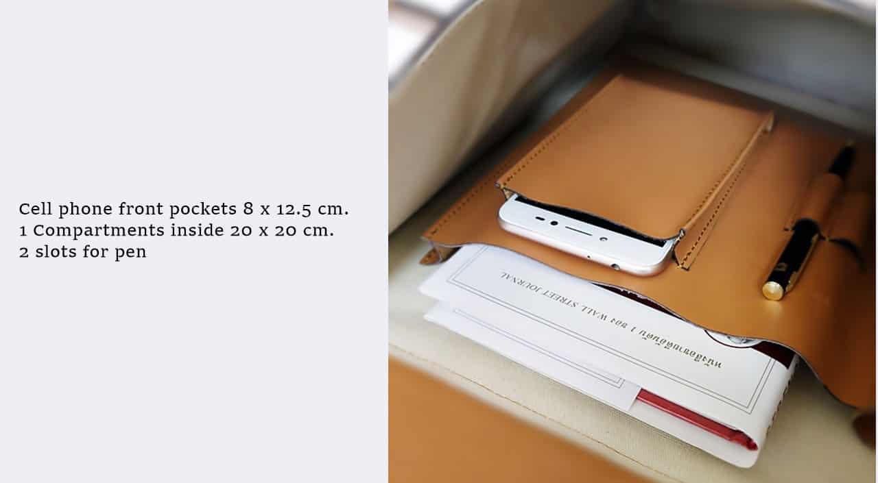 ช่องสำหรับใส่ mini ipad ช่องมือถือ