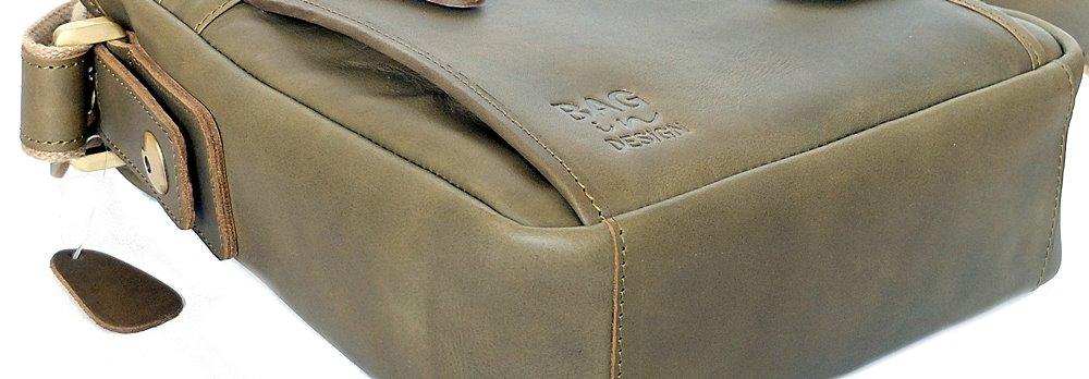 กระเป๋าหนังแท้ ผู้ชาย หนังฟอกฝาดย้อม