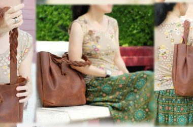 กระเป๋าถือหนังแท้ สไตล์ชิลๆ easy and minimalist