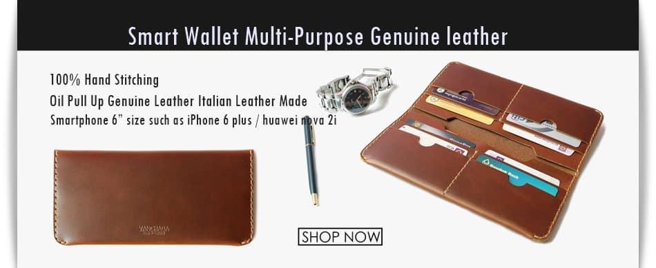 กระเป๋า Wallet handmade smart