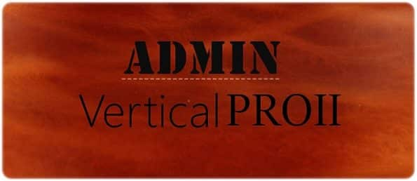 Logo admin vertical กระเป๋าชาย