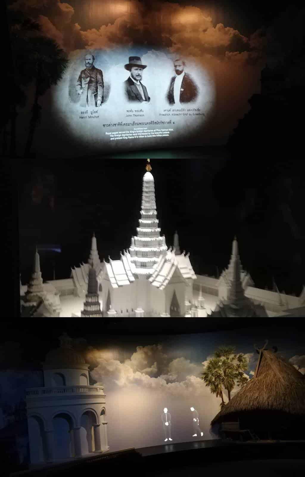 การเข้าชมนิทรรศการ ณ พระจอมเกล้าฯ บรมราชานิทัศน์ ไม่มีค่าเข้าชมแต่อย่างใด