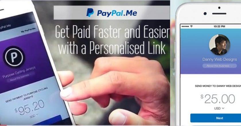 Paypal.me วิธีสร้างลิ้งค์