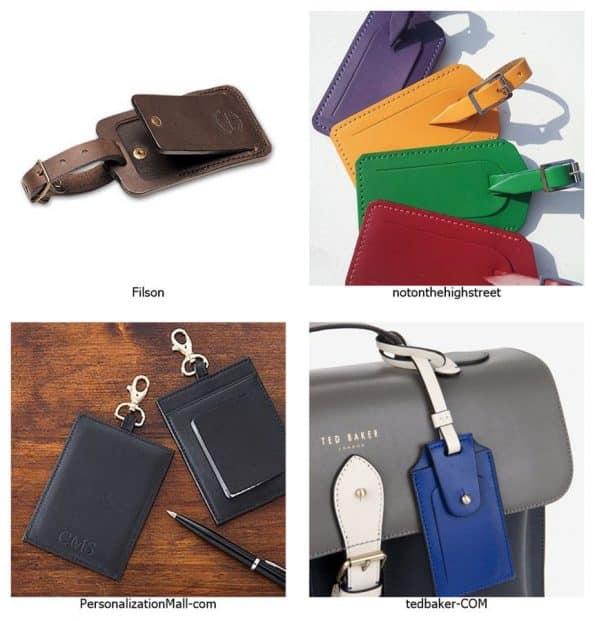 ป้ายกระเป๋าเดินทาง ในแบบต่างๆ