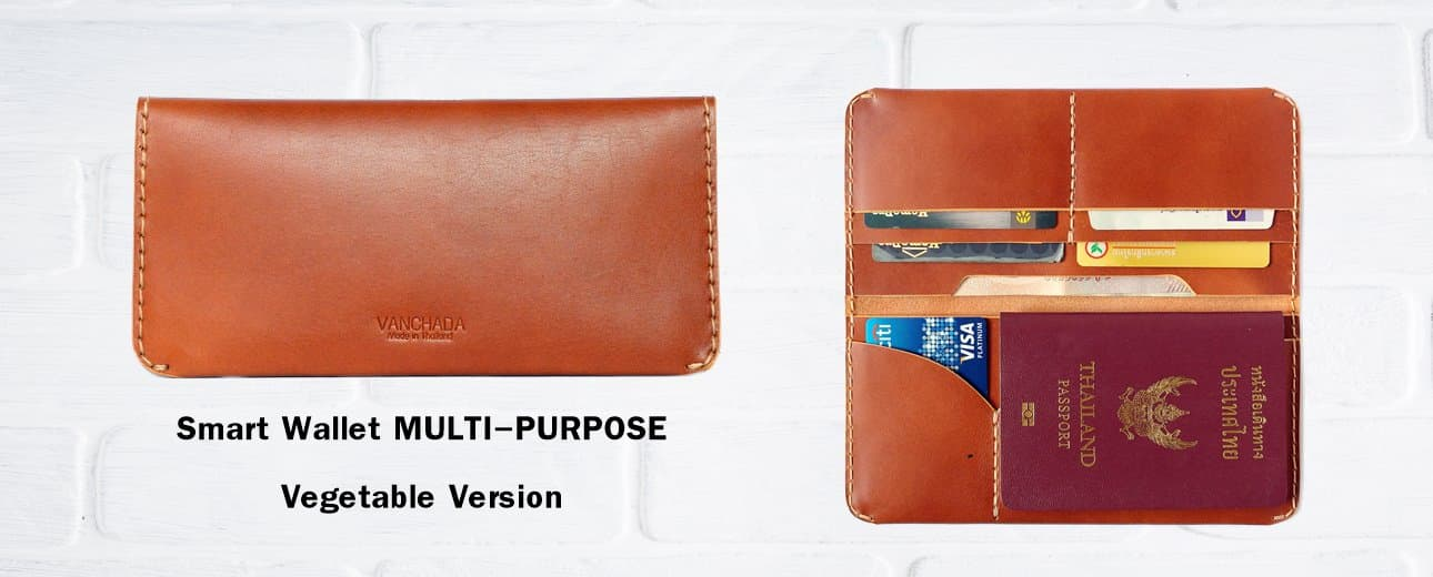 wallet passport leather