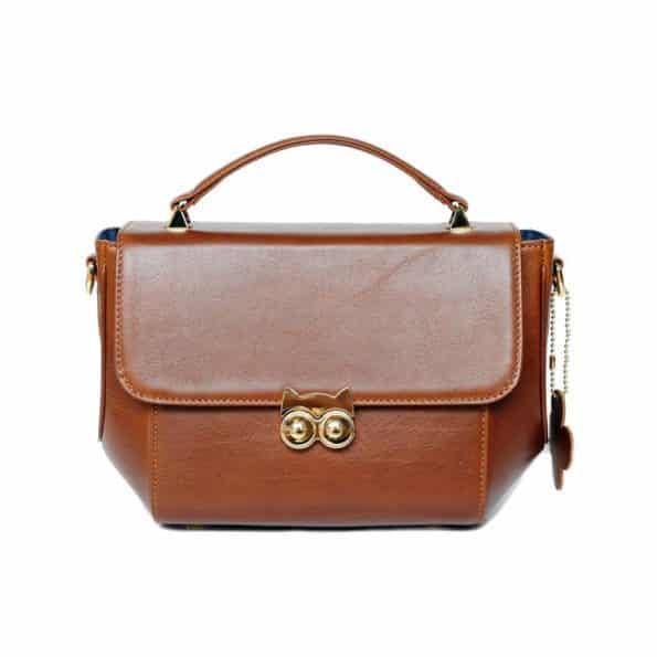 กระเป๋าถือ สี Chestnut