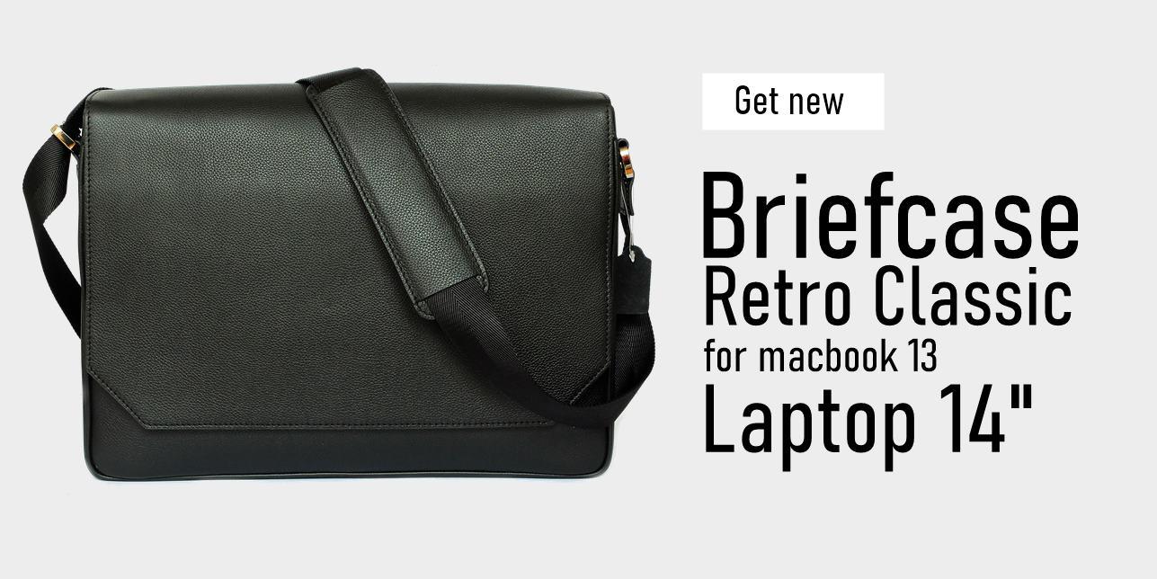 กระเป๋า macbook สีดำ