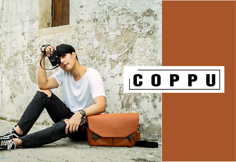 กระเป๋าหนังแท้ Coppu