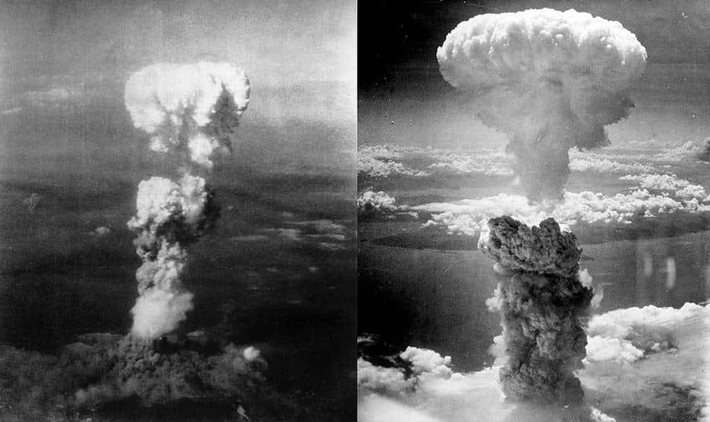 การทิ้งระเบิดนิวเคลียร์ที่ฮิโรชิมะและนางาซากิ