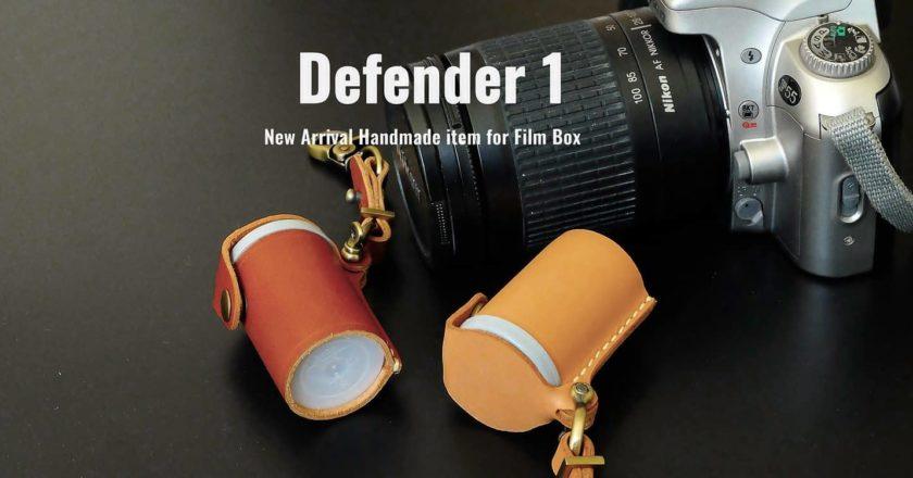 กล้องฟิล์ม Film box leather
